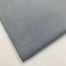 Plain 100% Cotton Fabric Per Metre Fat Quarters Material Quilting White Black