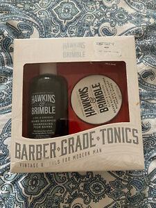Hawkins and Brimble Beard Shampoo Balm Set Mens