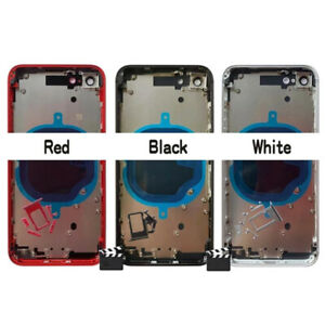 For iPhone SE 2 2020 Metal Back Chassis Housing Rear Glass Cover Replacement