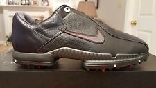 RARE Nike Tiger Woods Air Zoom TW 2011 Ltd Edition Mens Golf Shoes NEW Blk 9.5W