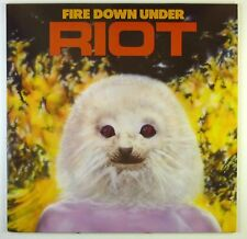 "12"" LP-Riot-Fire Down Under-c1738-Slavati & cleaned"