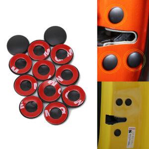 12PCS Car Door Lock Screw Cap Protection Door Anti-Rust Screw Waterproof Cover