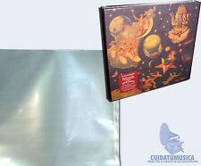 """10 FUNDAS GRANDES PARA BOX SETS (CAJAS) DE VARIOS DISCOS DE VINILO LP 12"""" MAXI"""