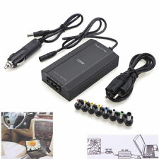 120W Universal AC DC Adapter Inverter Car Charger Power Set Supply For Laptop N