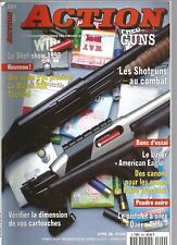 "ACTION  GUNS N°209 SHOTGUNS AU COMBAT / BLASER R95 TACTICAL / ""AMERICAIN EAGLE"""