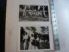 Vintage Photo-2 Photos Sweitzer Album Dorney Park #3 8/1915 Allentown PA 1993