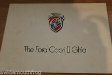 Ford Capri 2 Ghia Sales Folder FA205