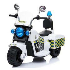 Mini Polizei Motorrad -  Elektromotorrad für Kinder mit Batterie