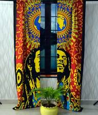 Bob Marley Wall Hanging Door Decor Handmade Door Window Curtain Indian Handmade