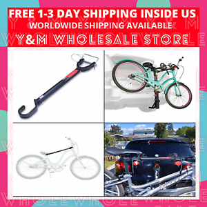 Allen Tension Bar Bicycle Cross-Bar Adaptor Black One size Car Bike Rack Carrier