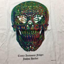 JOSHUA HARKER CRANIA ANATOMICA FILIGRE 3D Skull T Shirt Sculpture Josh XL Bones