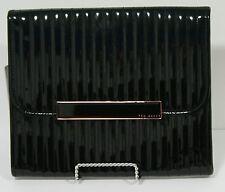 """Ted Baker 11"""" Tablet Case - Black Leather"""