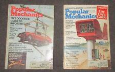 Popular Mechanics Magazine, Lot of 2 - Feb. and May 1974