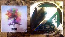 ZEDD True Colors   Spectrum Ltd Ed RARE Stickers Lot +FREE Pop/Dance Stickers!