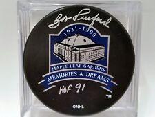 BOB PULFORD Toronto Maple Leafs AUTOGRAPHED Signed NHL Hockey Puck COA