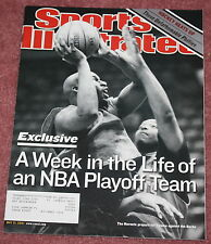 SPORTS ILLUSTRATED - 05/21/01 - EXCLUSIVE WEEK IN THE LIFE OF NBA PLAYOFF TEAM