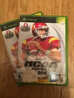 EA SPORTS NCAA FOOTBALL 2004 - XBOX - WORKS ON 360 - W/MANUAL - FREE S/H (M)