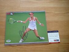 SEXY Agnieszka Radwanska Signed 8x10 Tennis Photo PSA DNA COA Autographed Auto a