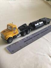 Vintage Majorette 1/60 Scania? Truck & Pipeline Carrier Trailer VGC