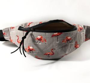 Flamingo fanny pack for women