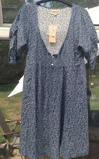 Ralph Lauren Denim & Supply Pintuck Detail Floral Dress, Size M