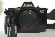 Canon EOS 650 35 mm FILM SLR Analog camera body w battery WORKING NO LENS