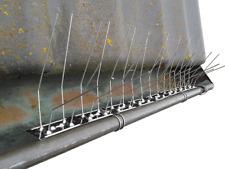Protection de gouttière, acier inoxydable, longeuer 50 cm, IDÈAL CONTRE PIGEONS