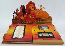 The Lion King, Limited Academy Award Gift, Disney Media Set, VHS/CD + Display