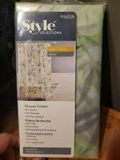 Style Selections Zen Garden Shower Curtain. Peva 70x72in.