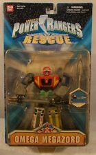 "Power Rangers Lightspeed Rescue 6"" Omega Megazord With Missile Firing Action MOC"