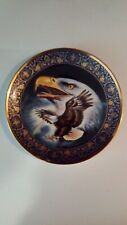 Franklin Mint Limited Edition American Eagle Profile Of Freedom Plate#Ha 3503
