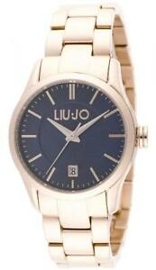 Orologio Donna LIU JO Luxury TESS TLJ888 Bracciale Acciaio Rosè Blu