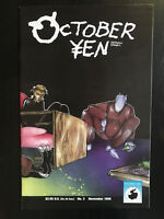 October Yen 1996 #3 first printing Antarctic Press Comic Book