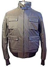 Belstaff Classic New Preston Bomber Jacket Motorcycle Blouson EU Size L