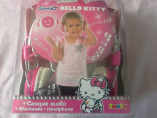 Casque audio filaire Hello Kitty de chez Smoby