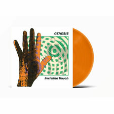 Genesis Invisible Touch Limited Edition Exclusive Orange Vinyl LP Pre Order