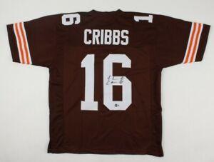 Josh Cribbs Signed Jersey (Beckett Hologram)Cleveland Browns