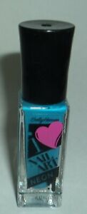 "Sally Hansen I ""Heart Shape"" Nail Art Polish Striper BLINDING BLUE 170"