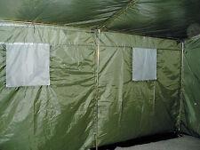 6 Mann Army Zelt Partyzelt Festzelt BW Bundeswehr oliv grün für sechs Personen