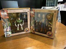 Sci-Fi Revoltech 011 010 Toy Story Buzz Lightyear Woody Action Figure Kaiyodo