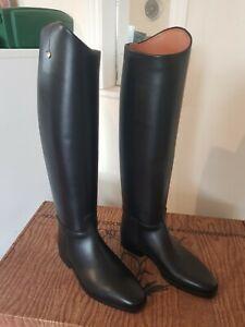 Sergio Grasso Long Riding Boots Size 39 Black
