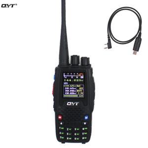 Pro KT8R 5W Quad-Standby 4 Band UV 2-Way Radio Amateur FM Walkie Talkie 2000mAh
