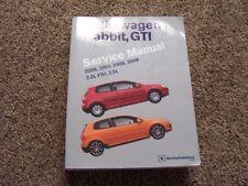 2006 Volkswagen Rabbit Shop Service Repair Manual S 2.5L 5-Cyl 2007 2008 2009