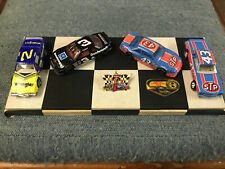 NASCAR Collectibles 1/64 Diecast 7 Time Champions Display Earnhardt Petty