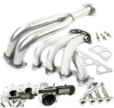 89-94 ECLIPSE/TALON/LASER 1G NT/NA 4G63 4-2-1 STAINLESS STEEL EXHAUST HEADER