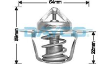 Thermostat for Jeep CJ6 Jun 1973 to 1977 DT14A