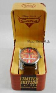 New Disney D23 Expo Pixar CARS John Lasseter Limited Edition LE 300 Wrist Watch