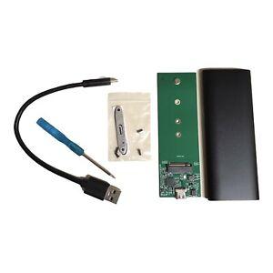 NGFF Portable SSD SATA USB 3.1 TypeC to M.2 Hard Disk Drive Enclosure Box Shell