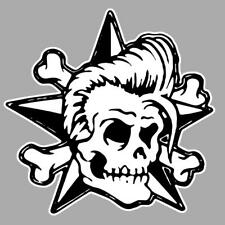 Rockabilly right star Sticker droit
