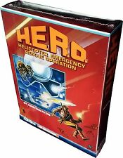 H.E.R.O - Colecovision - Cartridge - Vintage 1984 - Collectible!! New!! MiSB!!